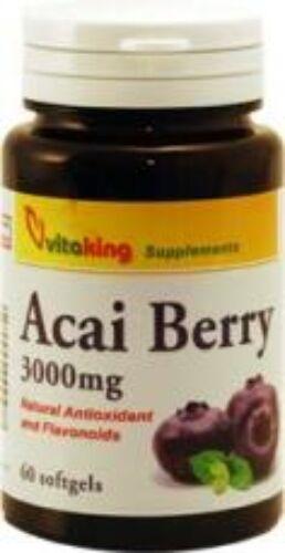 Image of Acai Berry 60x gélkapszula