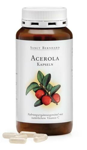 Image of Acerola+C-vitamin 300x -Sanct Bernhard-