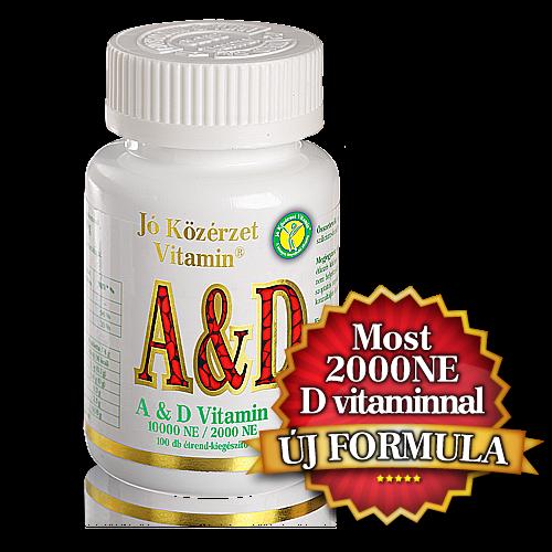 Image of A & D vitamin -Jó közérzet-