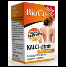 KALCI-citrát+D3-vitamin MEGAPACK 90db -BioCo-