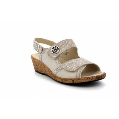 Waldlaufer  Helinda bézs fényes szandál - Waldlaufer cipők ... 87c26226a4