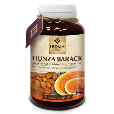 HUNZA BARACK magkivonat Reishivel és C vitaminnal 90x