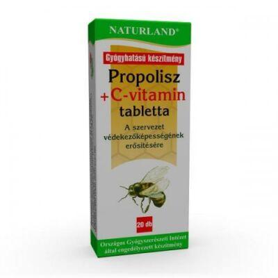 Propolisz+C  tabletta  20x-Naturland-