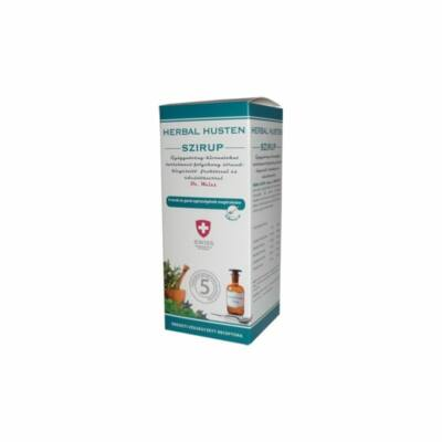 Köhögés elleni szirup felnőtteknek 300 ml.  -Herbal Swiss-
