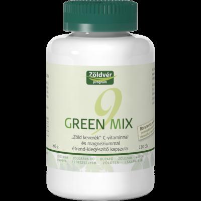 Green Mix 9 kapszula -VivaNatura-