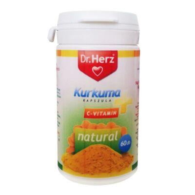 Kurkuma+C vitamin -Dr.Herz-