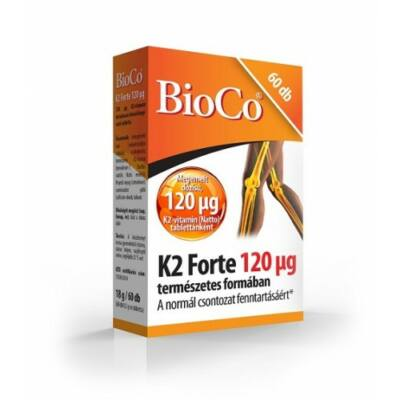 K2-vitamin Forte 120 µg 60x  -BioCo-