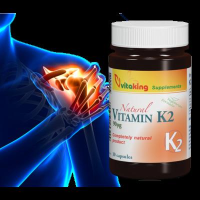 K2-vitamin 90 µg  30x -Vitaking-