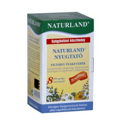 Nyugtató filteres teakeverék-Naturland-