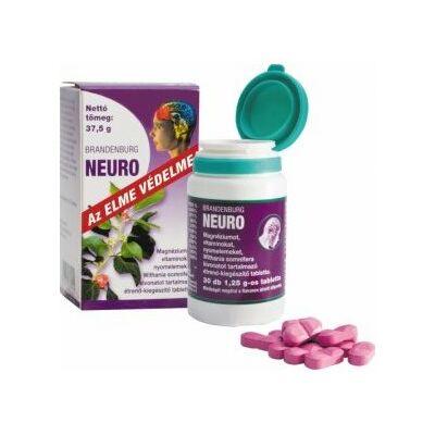 Branderburg Neuro tabletta ( Régi nevén Neuroptim )