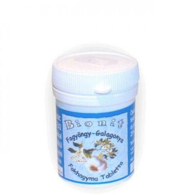 Fokhagyma - galagonya - fagyöngy tablett -Bionit-