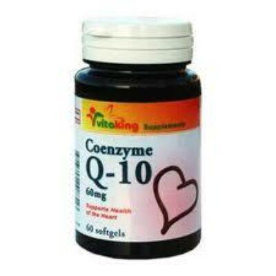 Q10 koenzim 60x-VitaKing-