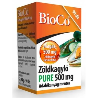 Zöldkagyló kapszula 90x -BioCo-