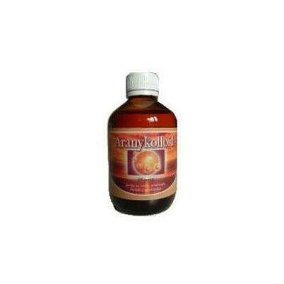 Aranykolloid oldat 200 ml.-MGrace -