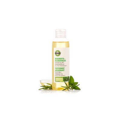Borsmenta-rozmaring növényi masszázsolaj 250 ml. -Yamuna-