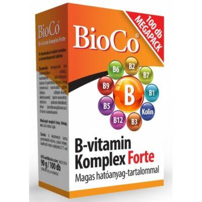 B-vitamin Komplex Forte 100x  -BioCo-