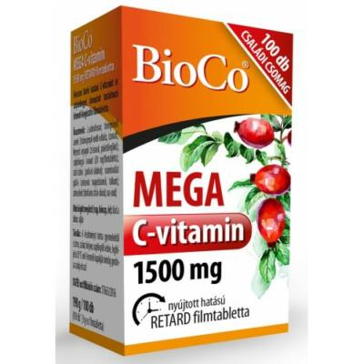 MEGA C-vitamin 1500 mg Családi csomag 100x -BioCo-