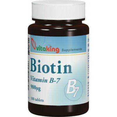 Biotin 900 mcg. -Vitaking-