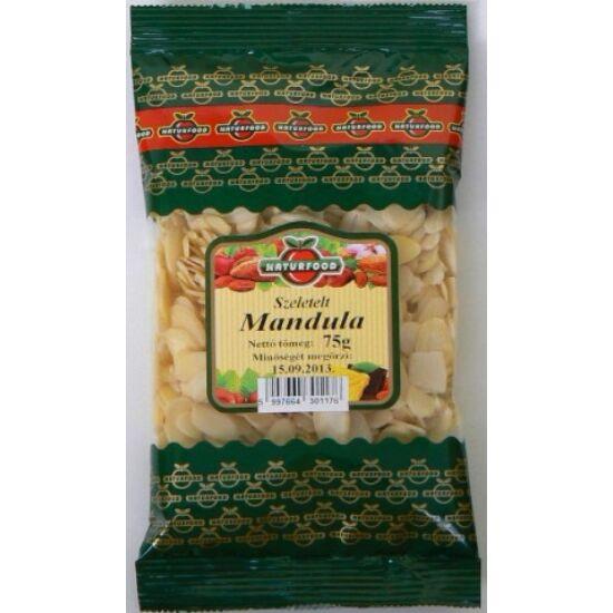 Szeletelt mandula  75 gr.  -Naturfood-