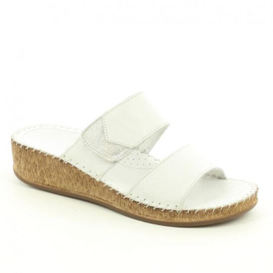 Walk: Fehér kétpántos papucs