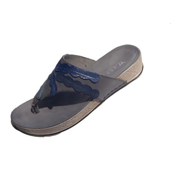 Walk: Kék lábujjas papucs