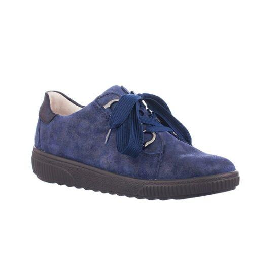 Waldlaufer: H-steffi marine kék női félcipő