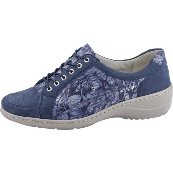 Waldlaufer: Kia kék virág mintás női félcipő