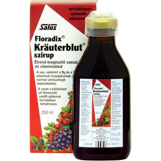 Kräuterblut-S-szirup 250 ml.