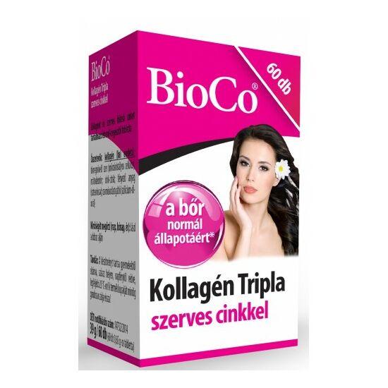 Kollagén tripla szerves cinkkel  -BioCo-