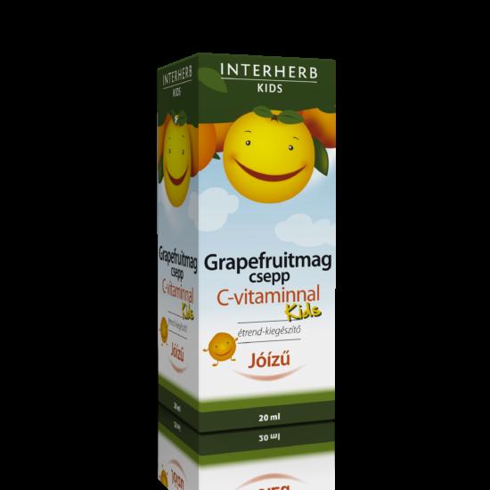 GRAPEFRUITMAG csepp KIDS C-vitaminnal 20 ml -Interherb-
