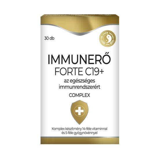 Immunerő Forte C19+ tabletta  -Chen patika-