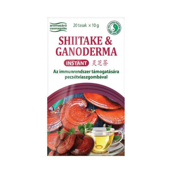 Shiitake és ganoderma tea