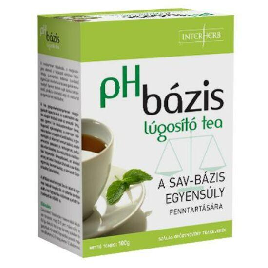 PH bázis lúgosító tea-Interherb-