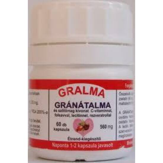 Gralma,gránátalma és szőlőmag-Pharmafort