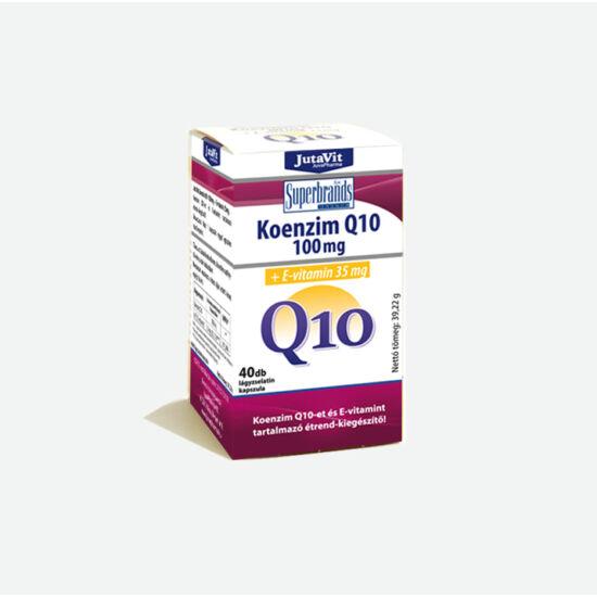 Koenzim Q10 100mg +E-vitamin 40x -JutaVit-