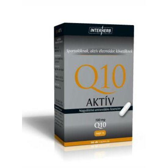 Q10 Aktív 100 mg kapszula - Interherb-