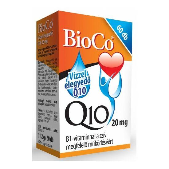Vízzel elegyedő Q10 (20 mg)-BioCo-