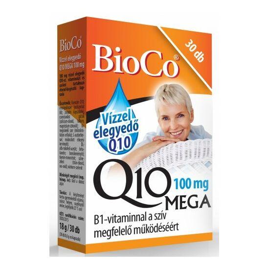 Vízzel elegyedő Q10 MEGA 100 mg. -BioCo-