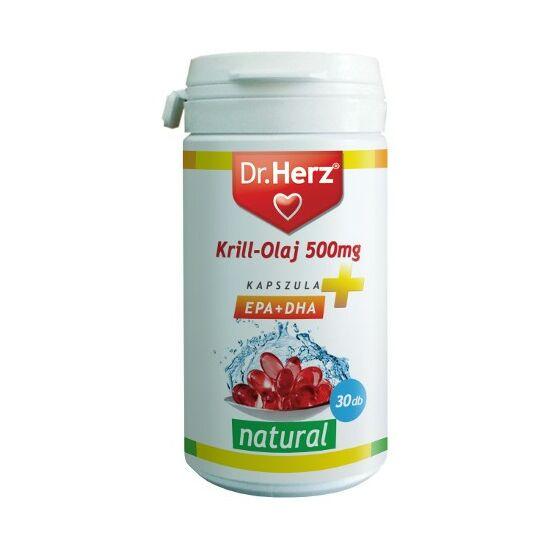 Krill-olaj 500mg kapszula -Dr.Herz-
