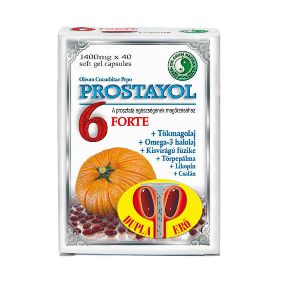 Prostayol 6 Forte kapszula-Chen patika-