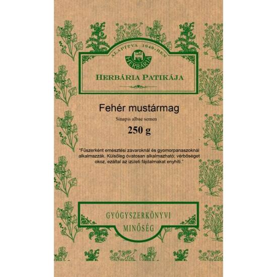 Fehér mustármag 250 gr.-Herbária-