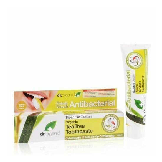Bio teafaolajos fogkrém -Dr.Organic-