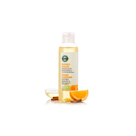 Narancs-fahéj növényi masszázsolaj 250 ml.-Yamuna-