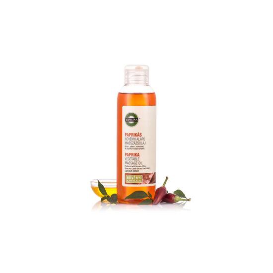 Paprika növényi masszázsolaj 250 ml.-Yamuna-