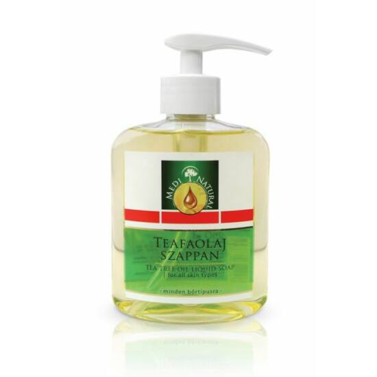 Teafaolajos folyékony szappan -Medinatural-