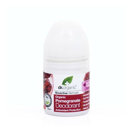 Bio gránátalma  dezodor -Dr.Organic-