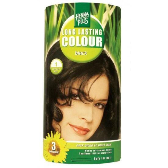 Hennaplus hajfesték: 1 fekete