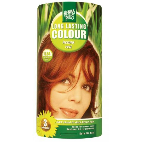 Hennaplus hajfesték: 5,64 henna vörös