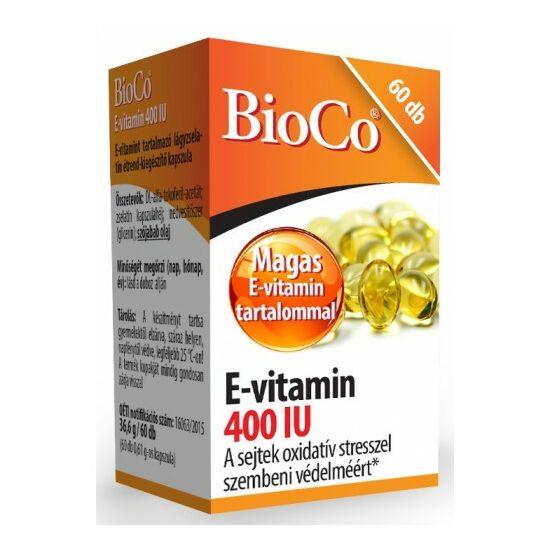 E-vitamin400 IU  -BioCo-
