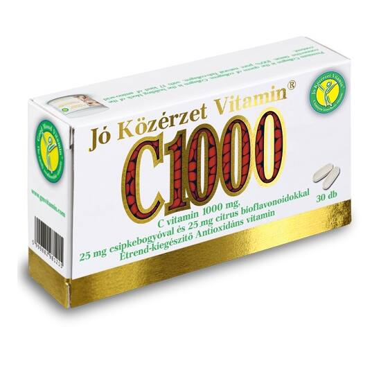 C vitamin 1000 mg.-Jó közérzet-